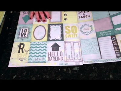 Best of Both Worlds Scrapbooking Kit :: February 2013
