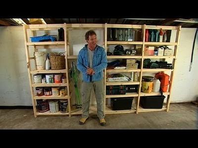 Better Homes and Gardens - DIY: garage storage