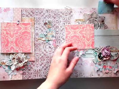 Big scrapbook album for a little girl