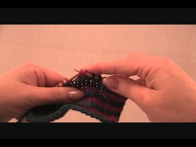 Cdd or Centered double decrease stitch Pinkfeather Knitting