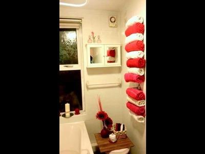 Cheap diy bathroom storage. organise idea