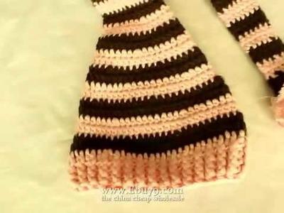 Christmas Peas baby wizard handmade crochet hats