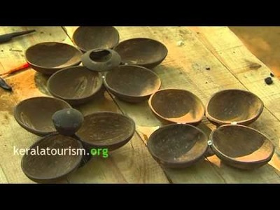 Coconut Shell Salver