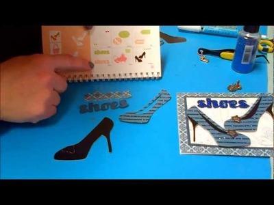 Cricut cards - Crafty Sabby paper crafts
