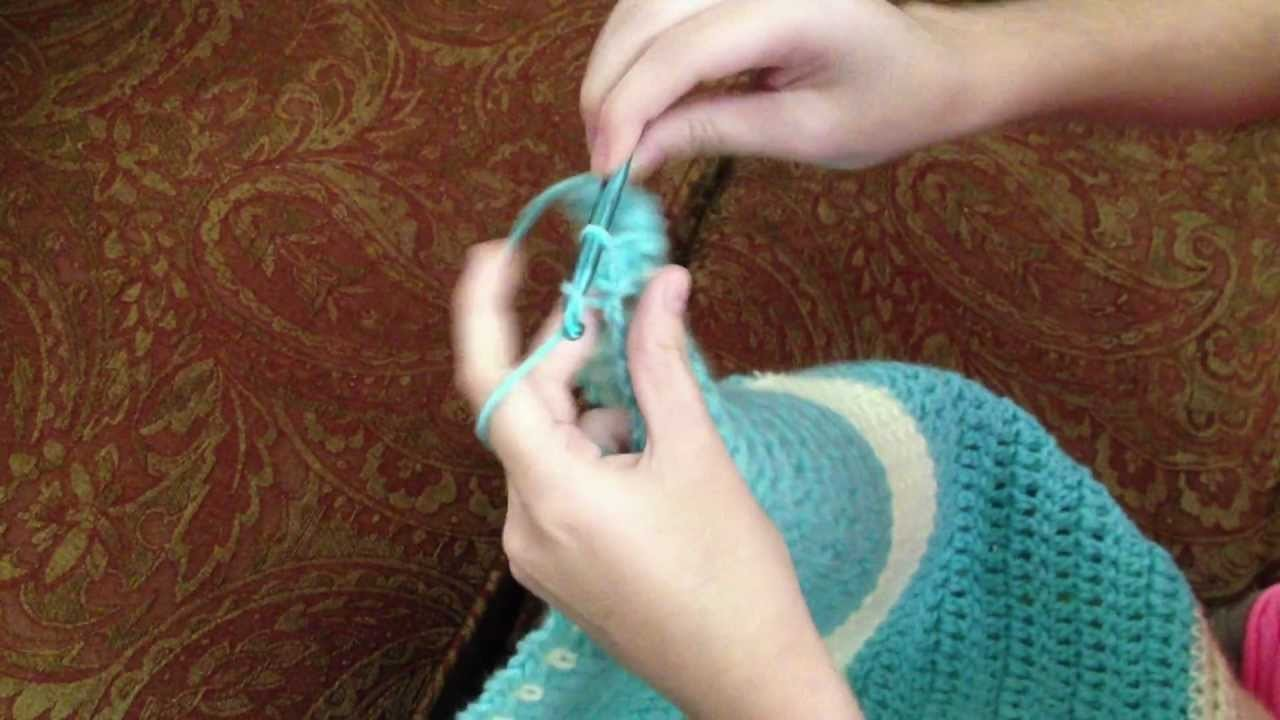 "Crochet ""How to"" Video #4  -   Making a Border"