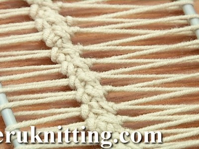 Crochet On Hairpin Loom Tutorial 17 Hairpin Lace Strip
