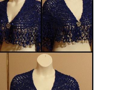 #Crochet Womens Shawl Wrap Scarf #TUTORIAL HD