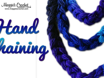 Dash Necklace Free Crochet Pattern - Right Handed