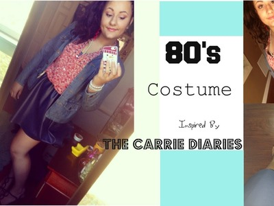 DIY 80's Costume, Inspired by: The Carrie Diaries