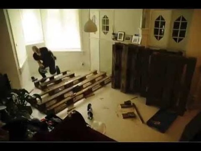 DIY couch made of pallets