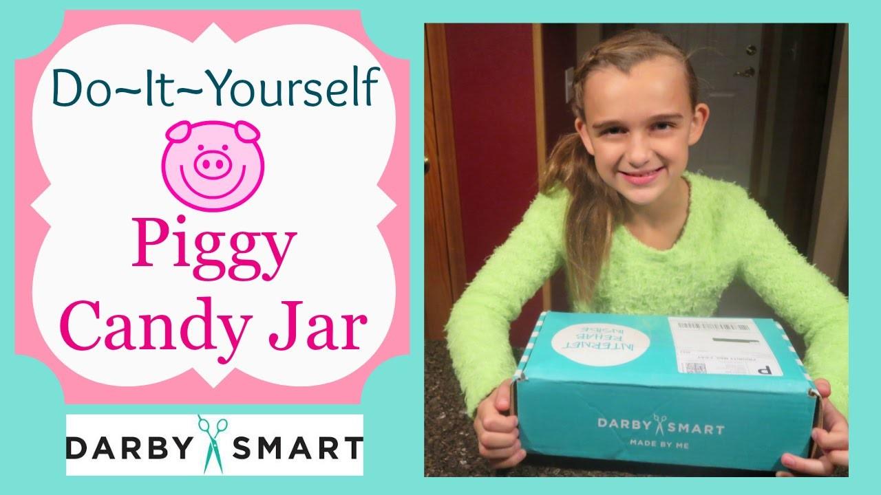 DIY DARBY SMART CANDY JAR & MOVIE GIVEAWAY WINNERS!!!