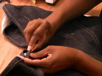 DIY Denim Vest From Old Jeans - Freestyle Friday #4