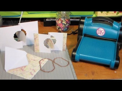 DIY flip it cards with any thin die
