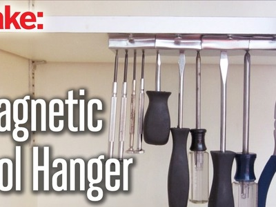 DIY Hacks & How To's: Magnetic Tool Hanger
