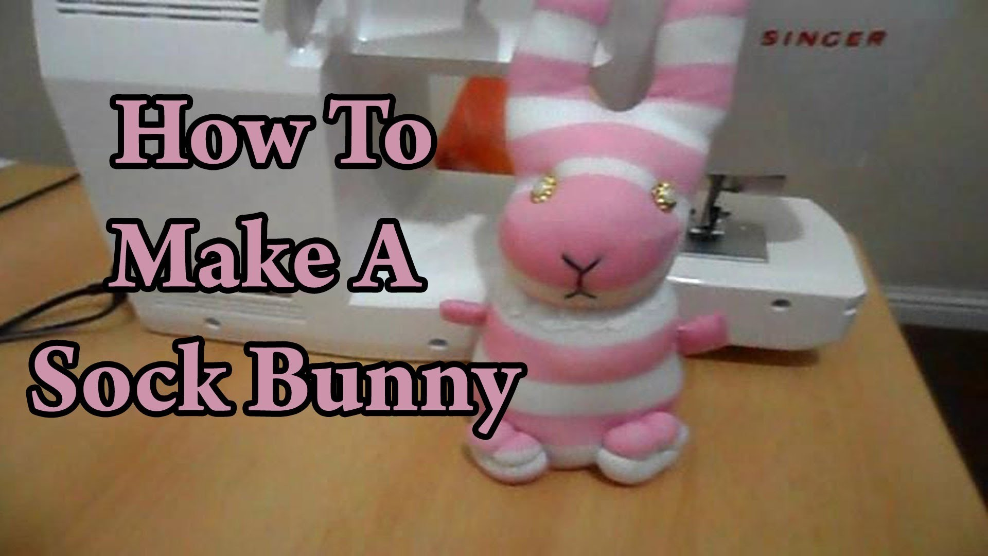 DIY: How To Make A Sock Bunny - Sustainable Patch
