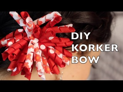 DIY Korker Hair Bow | How To Make A Korker Ribbon Bow