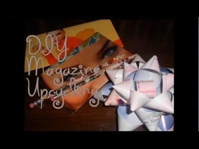 DIY Magazine Upcycling