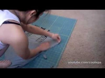 DIY Mullet Skirt & Tie Crop Top