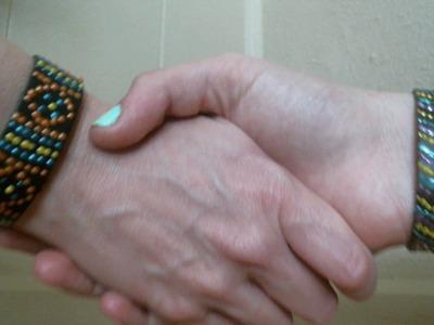 DIY No Bead Beaded Bracelets