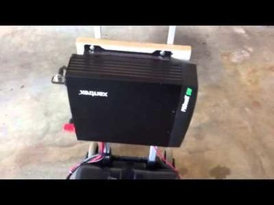DIY- Revised Home Built 1800w Portable Solar Backup Generator