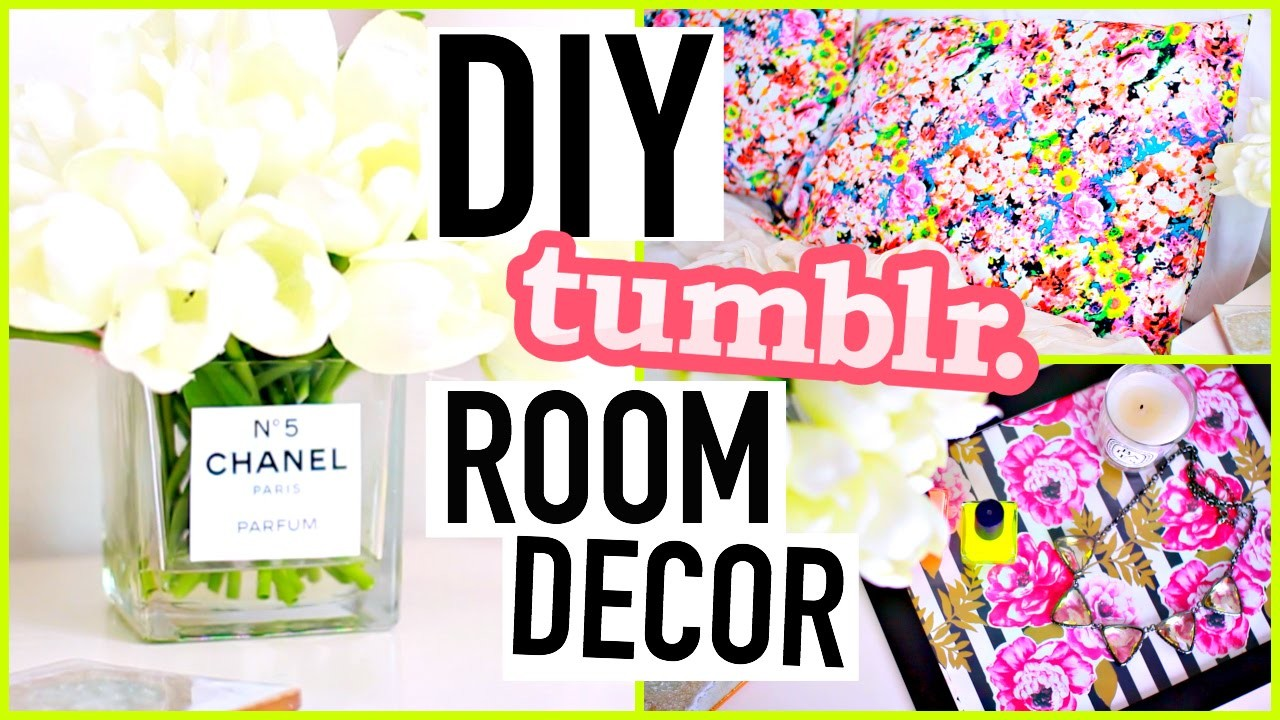 DIY Room Decorations: Tumblr Inspired!