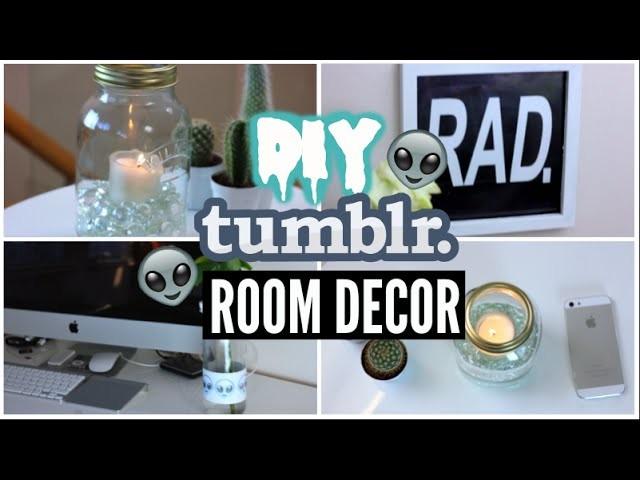 DIY Tumblr Room Decor 2015!