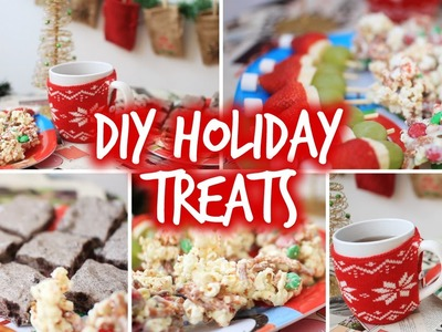 Easy DIY Holiday Party Snacks & Christmas Treats!