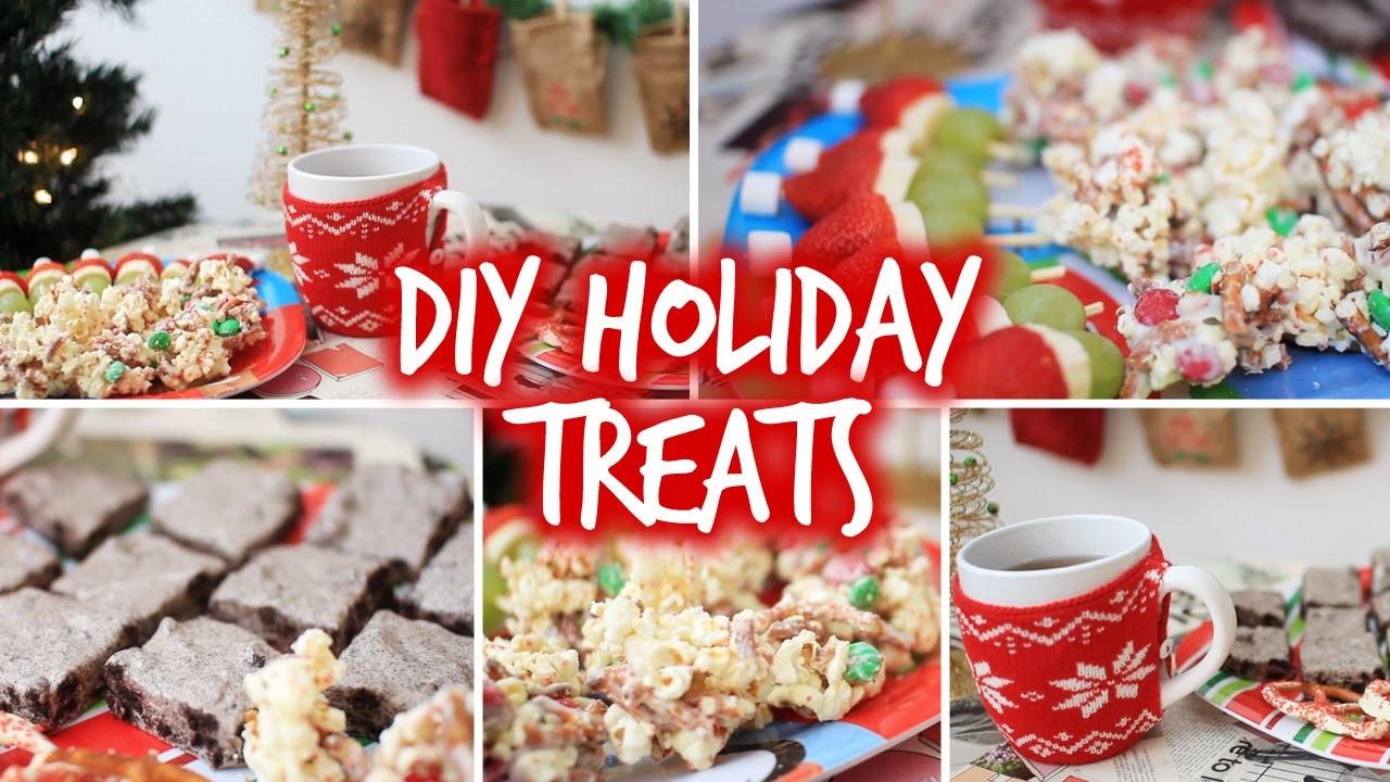 Easy DIY Holiday Party Snacks & Christmas Treats!