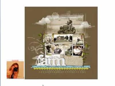 Embellish It! 05: embellishing scrapbook page titles