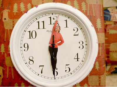 *GIFT IDEA* DIY Personalized Clock Hands :)