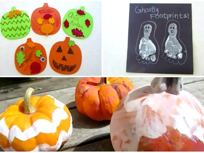 HALLOWEEN CRAFTS FOR TODDLERS!