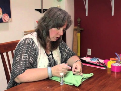 How to Affix Glitter to Clothing : Homemade Crafts