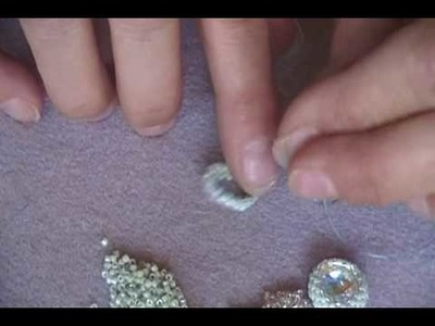 How to Bead Bezel Rivolis