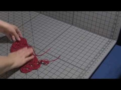 How to Block Lace Knitting