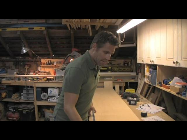 How to Build a Twin Bed w. Storage - Part 1