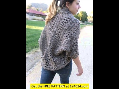 How to crochet a cardigan