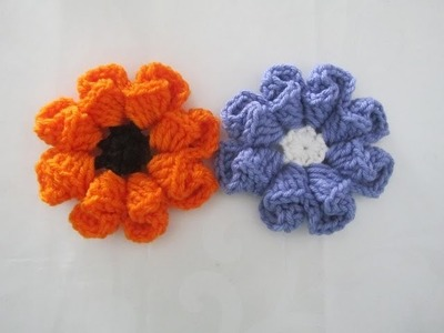 How to Crochet a Flower - Pattern  #1