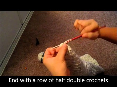 How to crochet a ruched purse