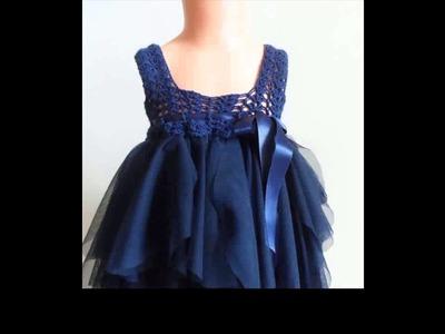 How to crochet a tutu dress