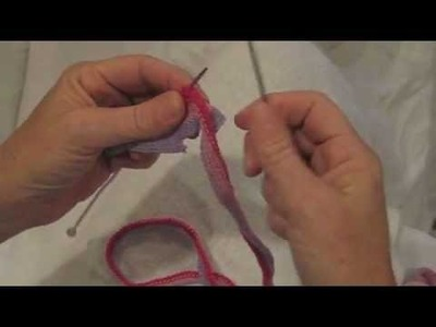 How to Knit with Frilly Yarn by Frilly Scarves by Liz