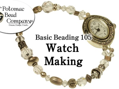 How to Make a Beaded Watch (DIY)