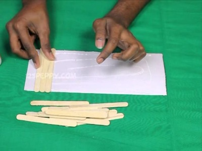 How to Make a Popsicle Stick Pen Holder