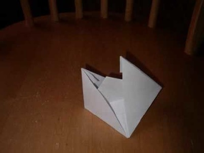 How to Make an Origami Boat (traditional)