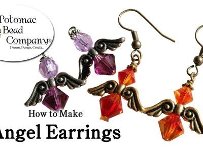 How to Make Angel Earrings