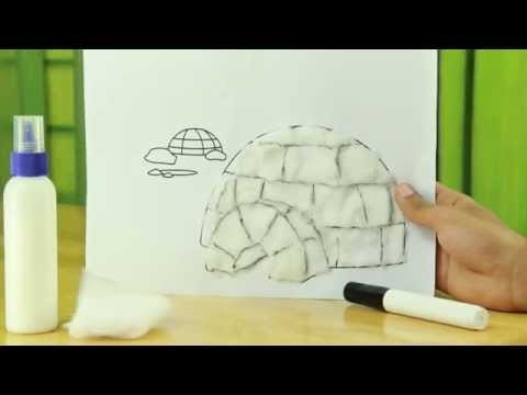 How to make craft igloo - craft
