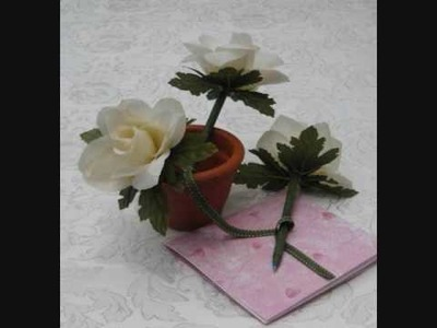 How to Make Floral Wedding Favor Pen - TWIS - Wedding Ideas