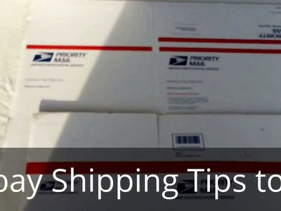 HOW TO MINIMIZE YOUR EBAY SHIPPING COSTS. how to ship clothes on ebay. SAVE MONEY SHIPPING USPS