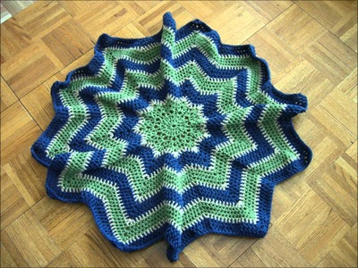 Krazy Kabbage - Crochet Star Blanket