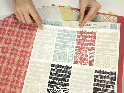 Lily Bee Design - Memorandum Scrapbooking Collection