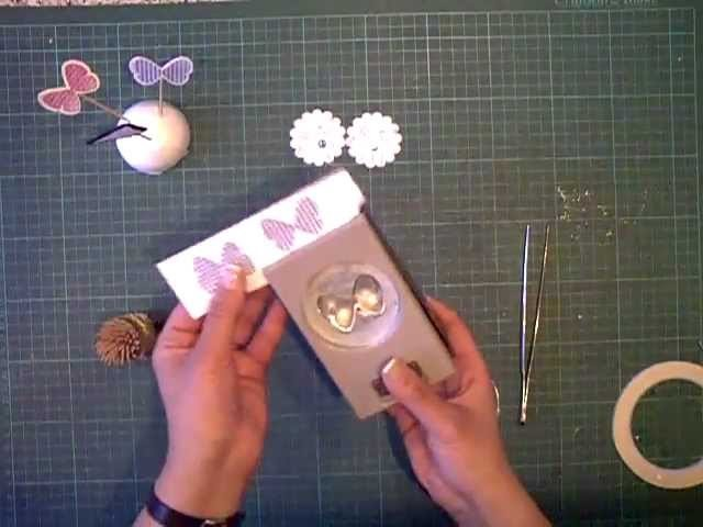 Make a cake topper out of your craft scraps